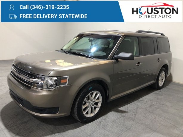 Used 2013 Ford Flex for sale in Houston TX.  We Finance!