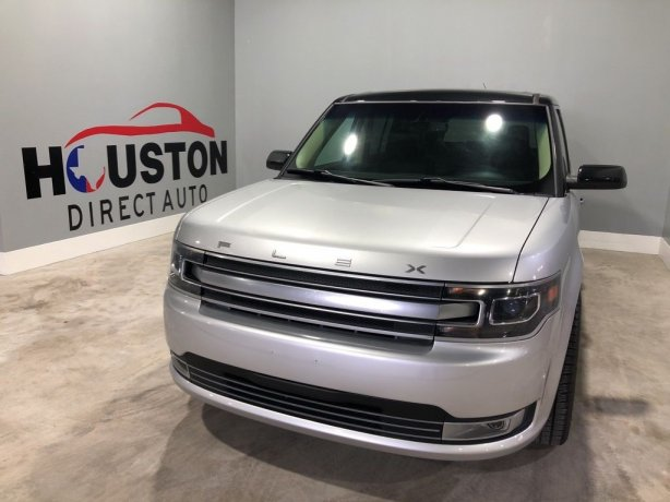 Used 2014 Ford Flex for sale in Houston TX.  We Finance!