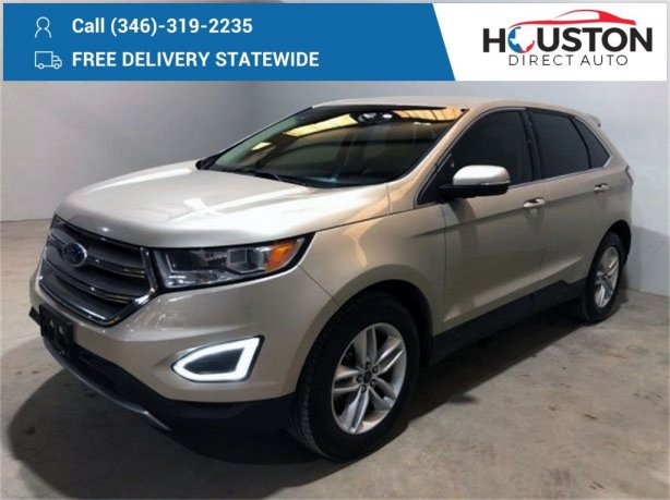 Used 2018 Ford Edge for sale in Houston TX.  We Finance!