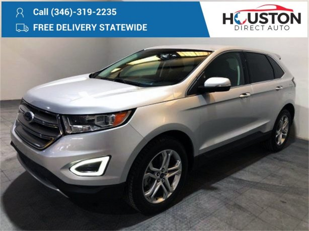 Used 2016 Ford Edge for sale in Houston TX.  We Finance!