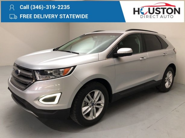 Used 2015 Ford Edge for sale in Houston TX.  We Finance!