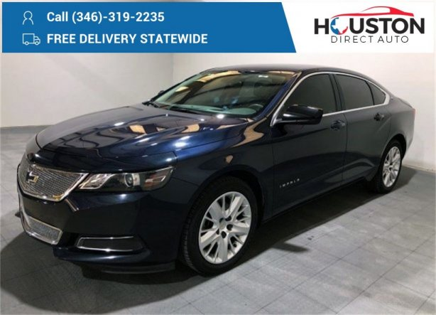 Used 2018 Chevrolet Impala for sale in Houston TX.  We Finance!