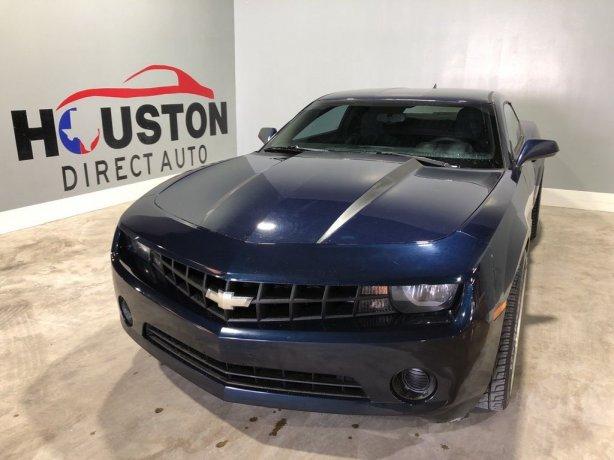 Used 2011 Chevrolet Camaro for sale in Houston TX.  We Finance!