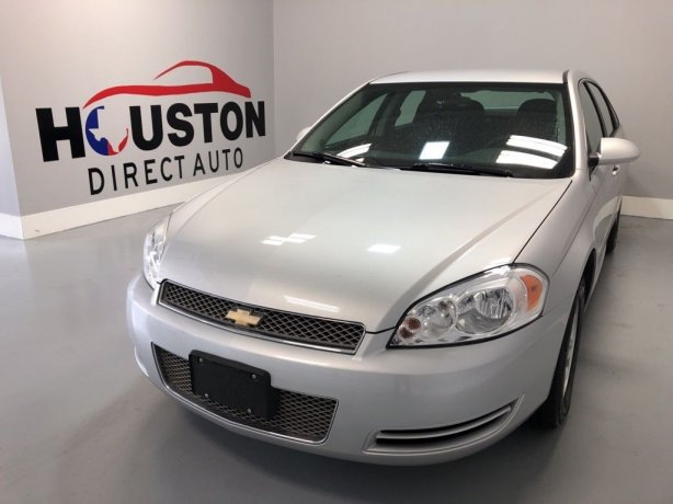 Used 2015 Chevrolet Impala Limited for sale in Houston TX.  We Finance!