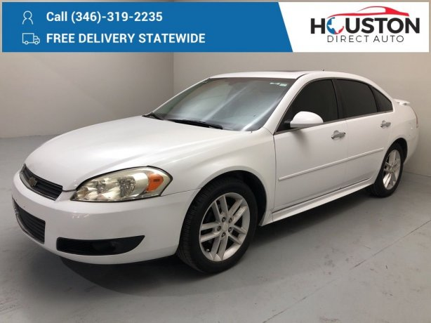 Used 2016 Chevrolet Impala Limited for sale in Houston TX.  We Finance!