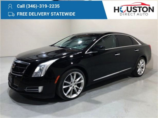 Used 2016 Cadillac XTS for sale in Houston TX.  We Finance!