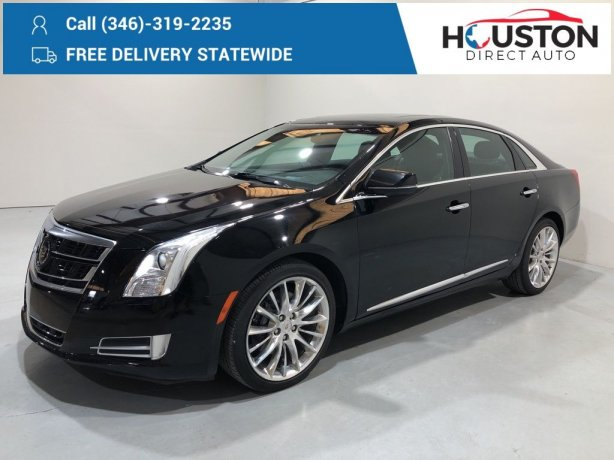 Used 2015 Cadillac XTS for sale in Houston TX.  We Finance!