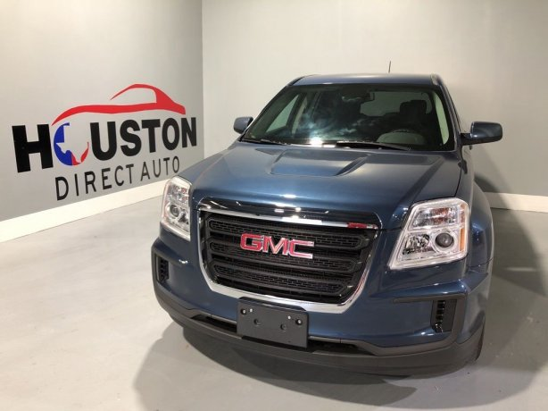 Used 2016 GMC Terrain for sale in Houston TX.  We Finance!