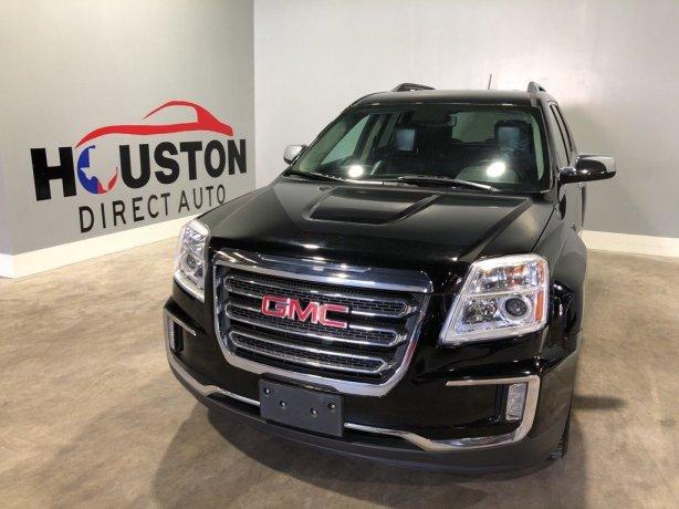 Used 2017 GMC Terrain for sale in Houston TX.  We Finance!