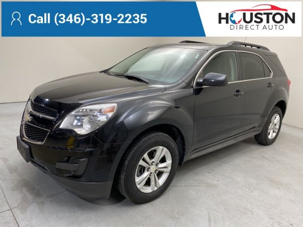 Used 2012 Chevrolet Equinox for sale in Houston TX.  We Finance!
