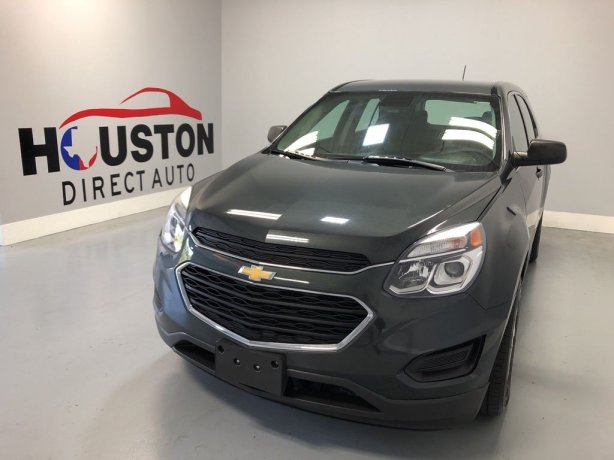 Used 2017 Chevrolet Equinox for sale in Houston TX.  We Finance!