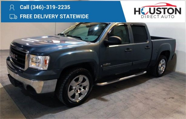Used 2007 GMC Sierra 1500 for sale in Houston TX.  We Finance!