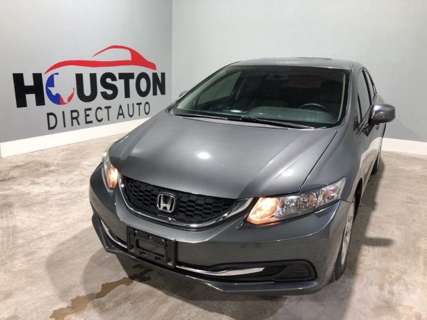 Used 2013 Honda Civic for sale in Houston TX.  We Finance!