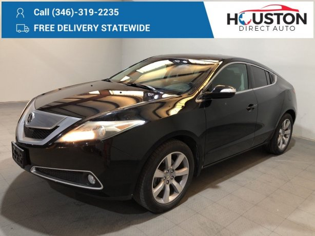 Used 2010 Acura ZDX for sale in Houston TX.  We Finance!