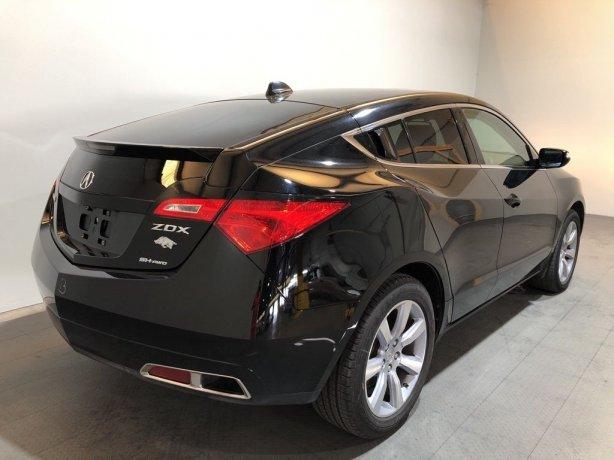 used Acura ZDX