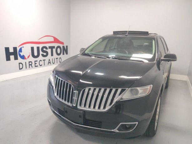 Used 2015 Lincoln MKX for sale in Houston TX.  We Finance!