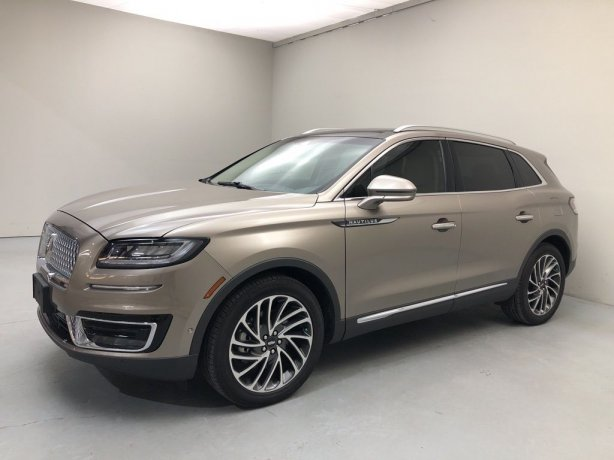 Used 2020 Lincoln Nautilus for sale in Houston TX.  We Finance!