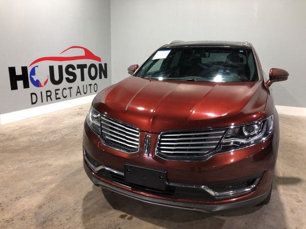 Used 2016 Lincoln MKX for sale in Houston TX.  We Finance!