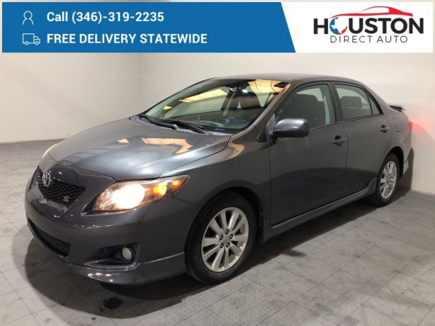 Used 2010 Toyota Corolla for sale in Houston TX.  We Finance!