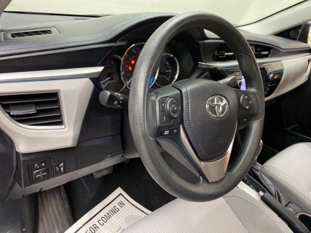 2015 Toyota Corolla for sale Houston TX