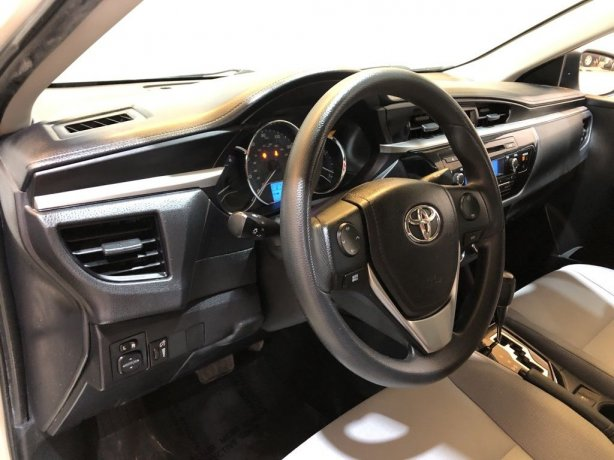 2015 Toyota Corolla for sale Houston TX