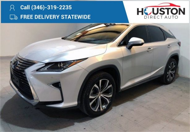 Used 2017 Lexus RX for sale in Houston TX.  We Finance!
