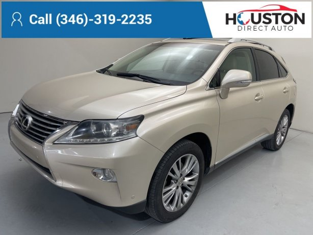 Used 2014 Lexus RX for sale in Houston TX.  We Finance!