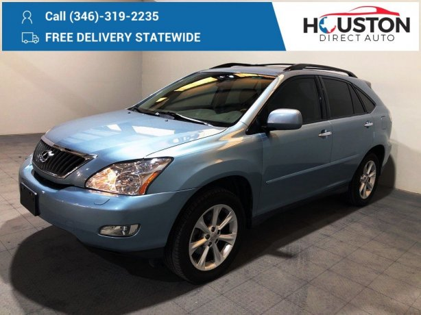 Used 2009 Lexus RX for sale in Houston TX.  We Finance!