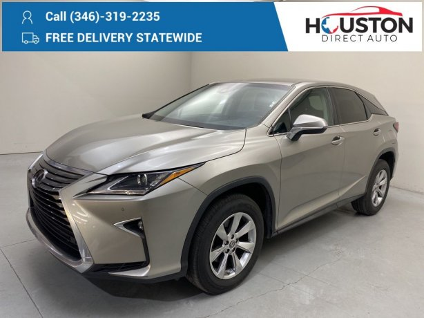Used 2018 Lexus RX for sale in Houston TX.  We Finance!