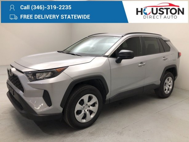 Used 2019 Toyota RAV4 for sale in Houston TX.  We Finance!