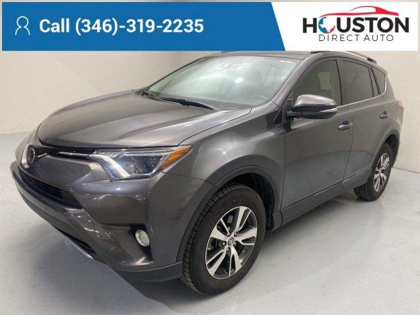 Used 2017 Toyota RAV4 for sale in Houston TX.  We Finance!