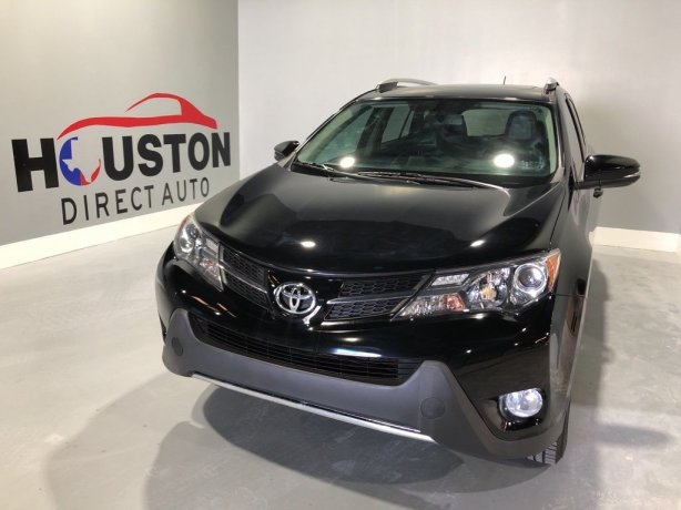 Used 2013 Toyota RAV4 for sale in Houston TX.  We Finance!