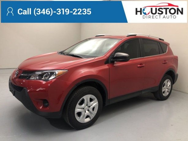 Used 2014 Toyota RAV4 for sale in Houston TX.  We Finance!