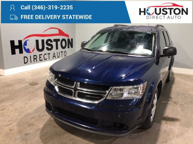 Used 2018 Dodge Journey for sale in Houston TX.  We Finance!