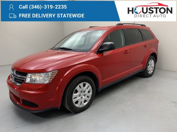Used 2015 Dodge Journey for sale in Houston TX.  We Finance!