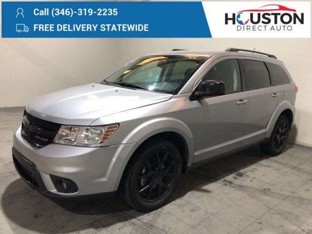 Used 2016 Dodge Journey for sale in Houston TX.  We Finance!