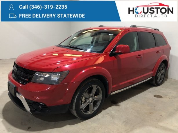 Used 2017 Dodge Journey for sale in Houston TX.  We Finance!