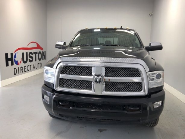 Used 2013 Ram 3500 for sale in Houston TX.  We Finance!