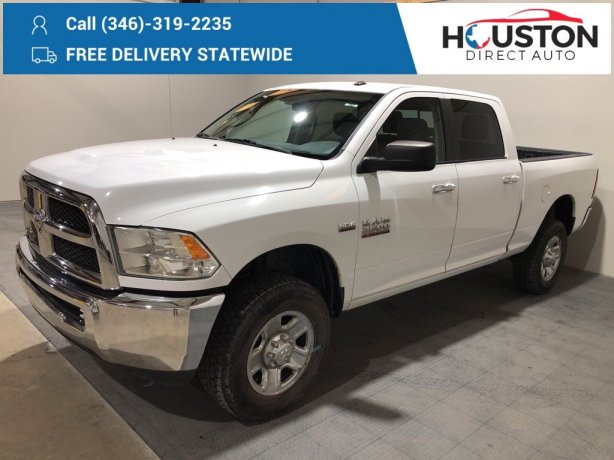 Used 2015 Ram 2500 for sale in Houston TX.  We Finance!