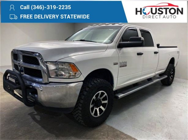 Used 2018 Ram 2500 for sale in Houston TX.  We Finance!