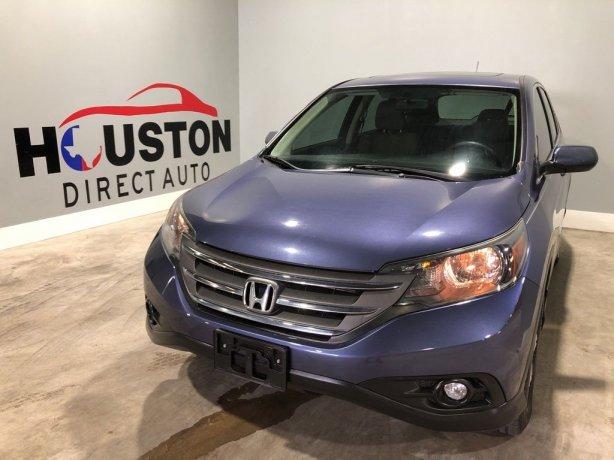 Used 2014 Honda CR-V for sale in Houston TX.  We Finance!