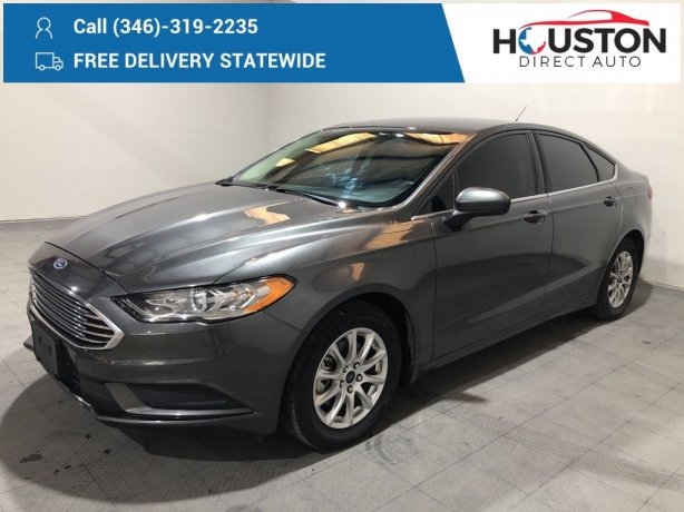 Used 2018 Ford Fusion for sale in Houston TX.  We Finance!