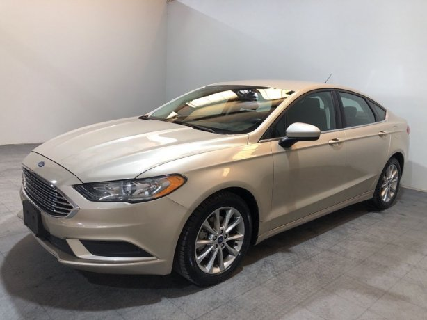 Used 2017 Ford Fusion for sale in Houston TX.  We Finance!