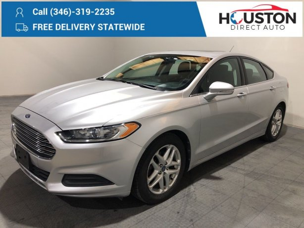 Used 2013 Ford Fusion for sale in Houston TX.  We Finance!