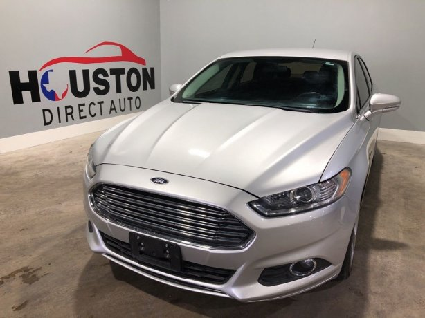 Used 2016 Ford Fusion for sale in Houston TX.  We Finance!