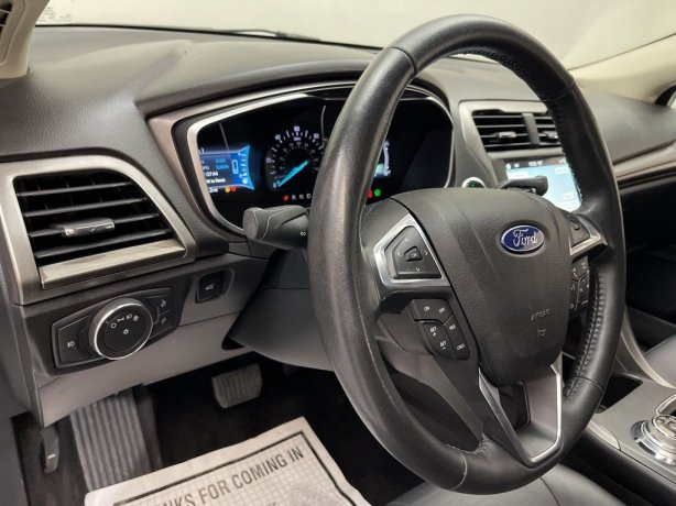 2017 Ford Fusion Energi for sale Houston TX