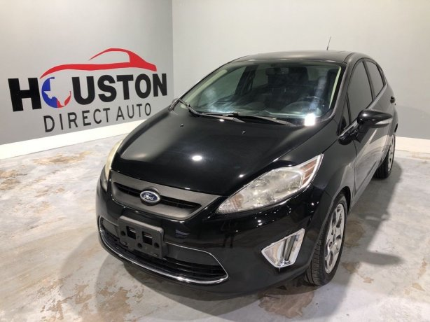 Used 2011 Ford Fiesta for sale in Houston TX.  We Finance!