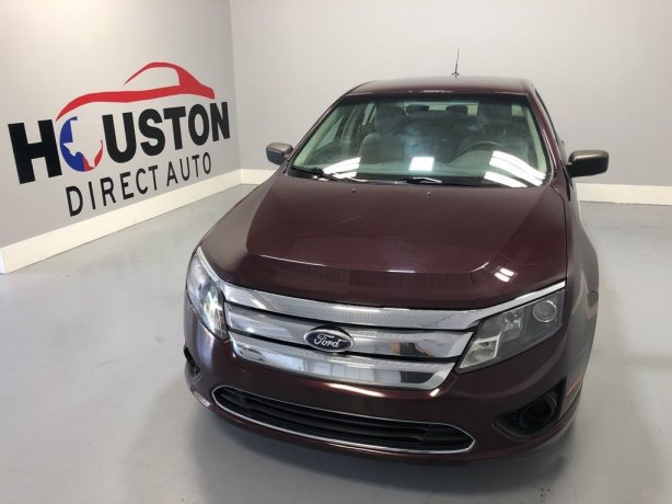Used 2012 Ford Fusion for sale in Houston TX.  We Finance!