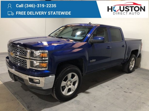 Used 2014 Chevrolet Silverado 1500 for sale in Houston TX.  We Finance!