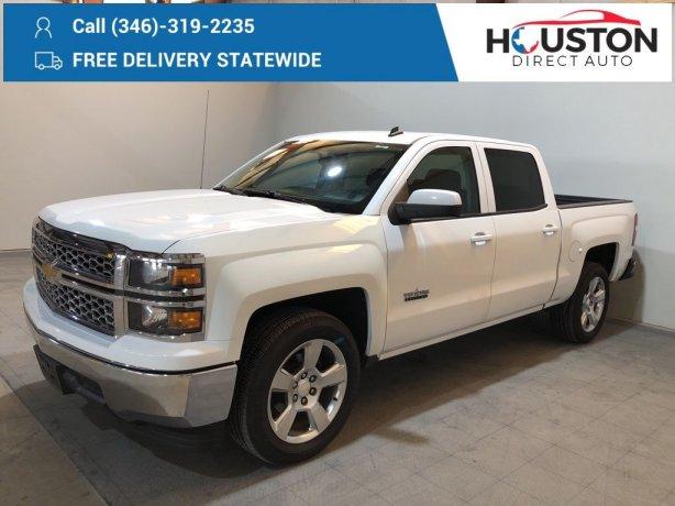 Used 2014 Chevrolet Silverado 1500 for sale in Houston TX.  We Finance!